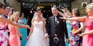 Weddings photography bride groom Woodlands Hotel Dundee
