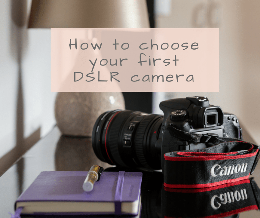 DSLR camera photography