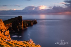 Neist Point Skye sunset
