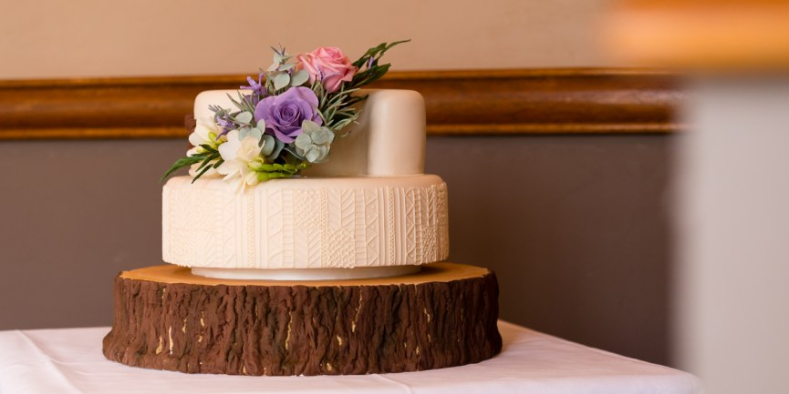 Wedding cake Glen Clova Hotel Angus