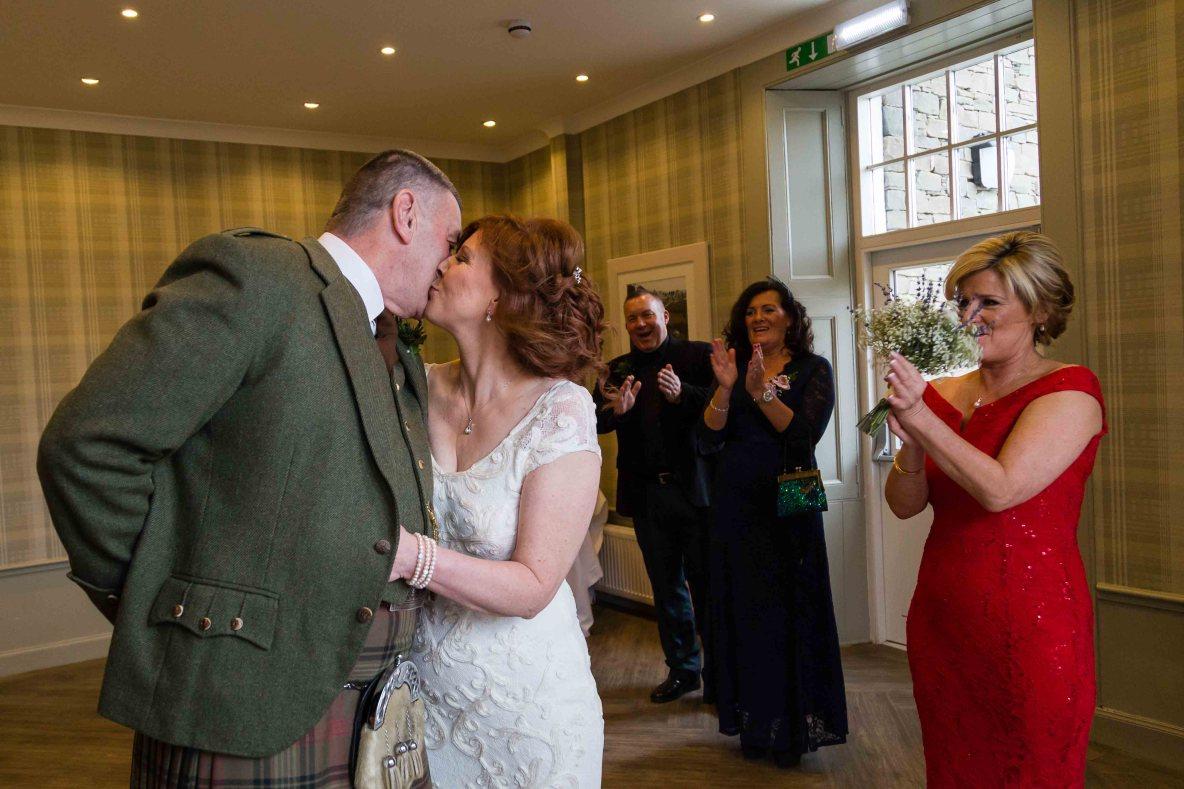 weddings photography bride groom Glen Clova Hotel