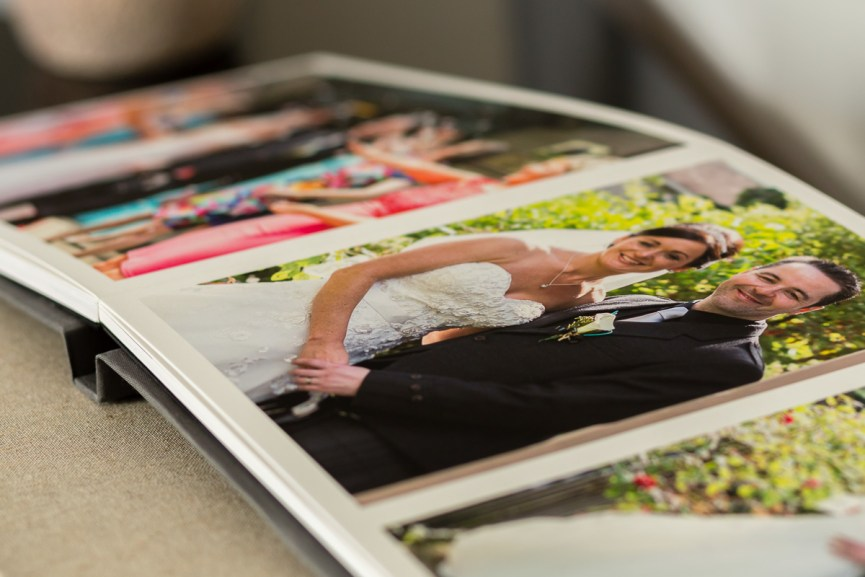 Fine art seamless wedding album