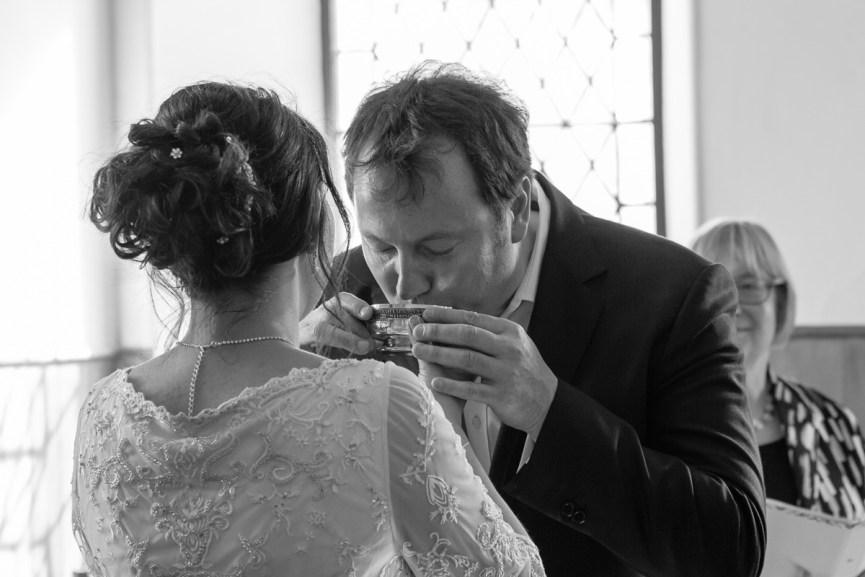 Wedding quaich Clova Kirk Angus