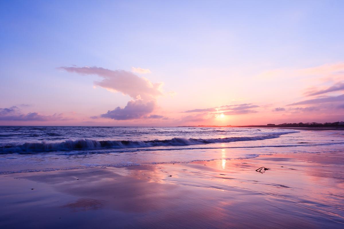 Sunset at Arbroath Beach
