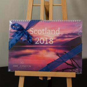 2018 Scotland Calendar