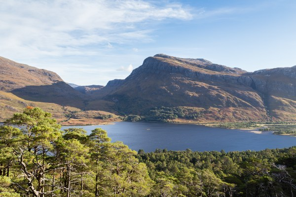 Slioch as seen from the Beinn Eighe Mountain Trail