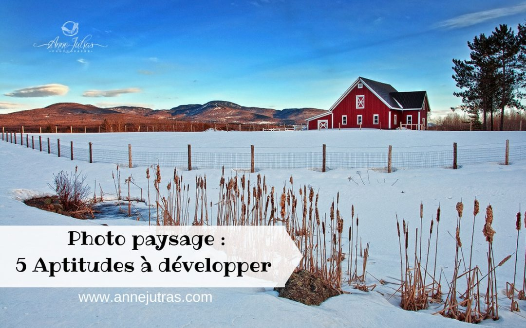 Photo paysage : 5 Aptitudes à développer