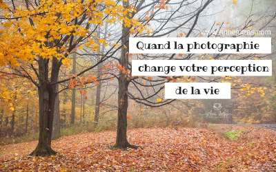 Quand la photographie change votre perception de la vie