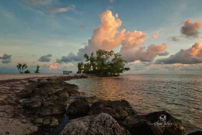 Plage Sumbrero beach - Marathon, Keys, Flordie