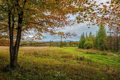 Vue de le mont Sutton, Lac Brome, Qc, Canada