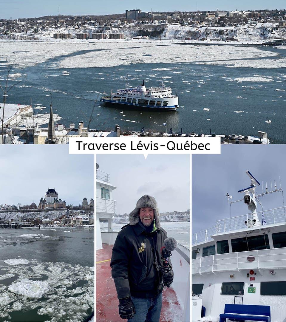 Vieux Québec : la traverse Québec-Lévis
