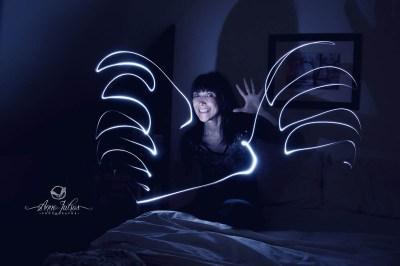 Idée photo créative | peindre avec la lumière