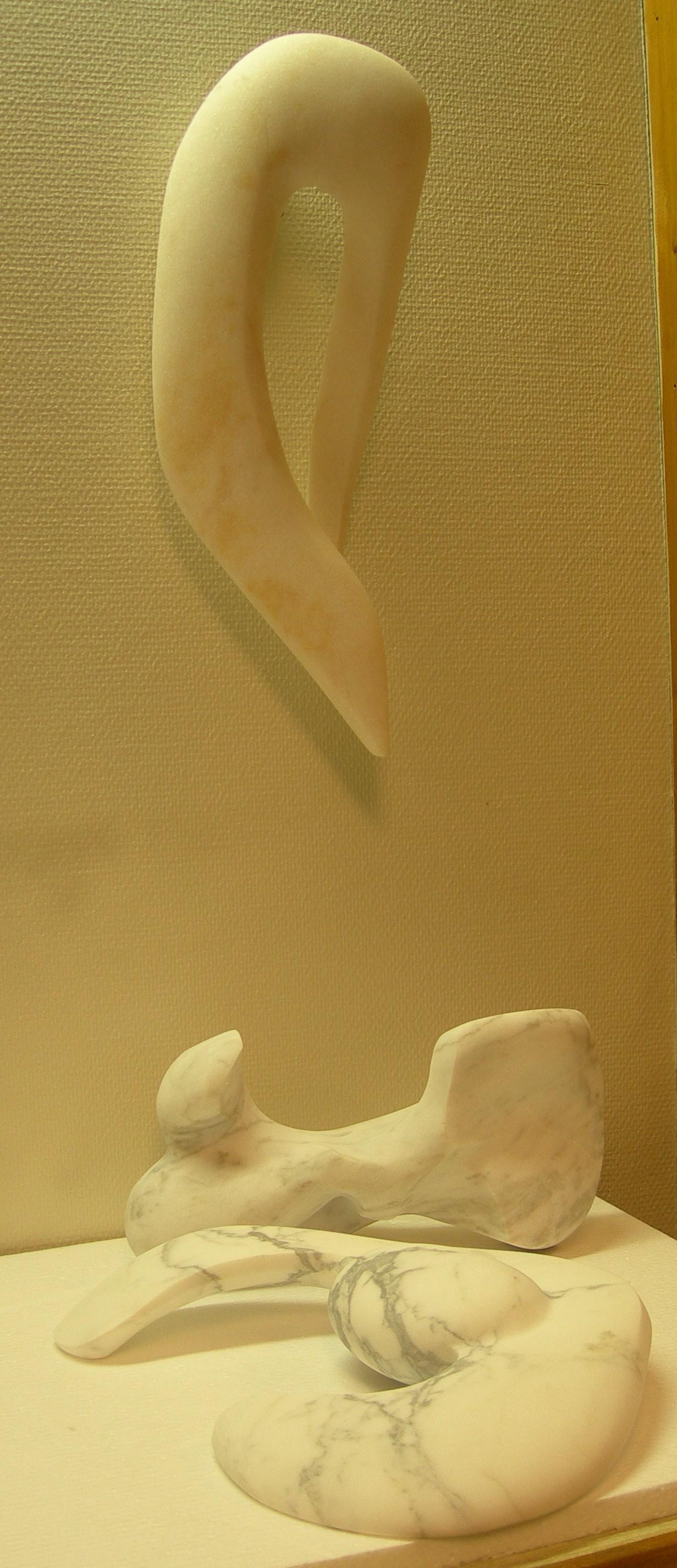 Marmorskulpturer fra 2009