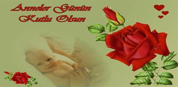 Resimli Anneler Günü Mesajı