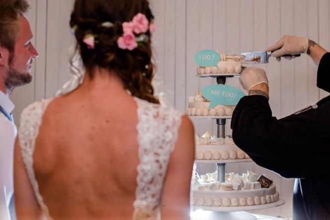 Huwelijk Strantwerpen - Antwerpen - Kleurrijk - taart