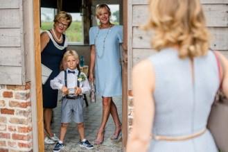 domein eikennest huwelijk spontaan vintage blauw