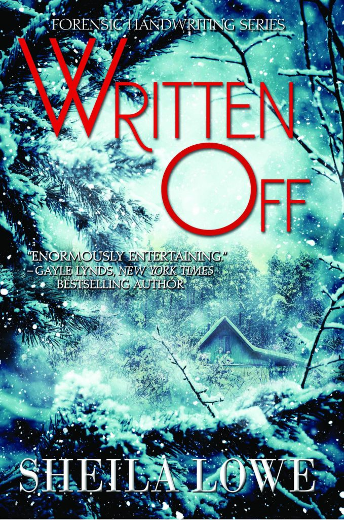 Cover art of the latest Claudia Rose novel, Written Off