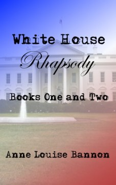 Cover for the ebook White House Rhapsody books one and two