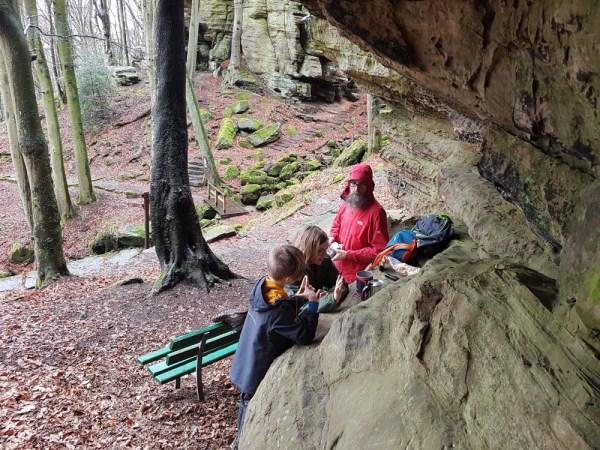 picknicken op de mullerthal trail