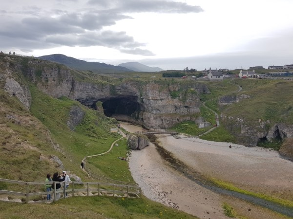 Smoo cave durness