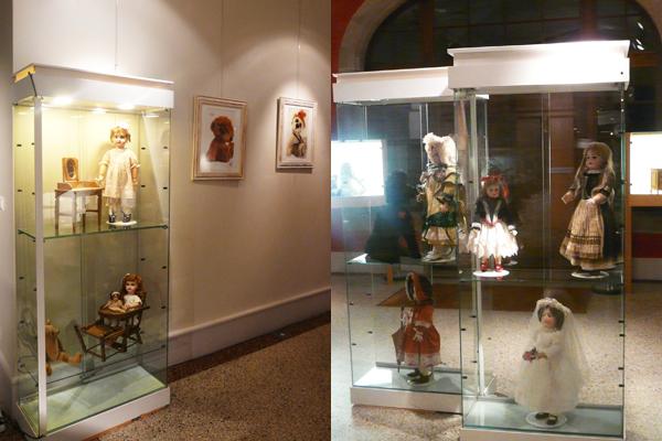 Exposition baccarat collection poupees anciennes vintage