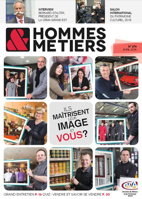 Homme et metiers magazine 278 avril mai 2016 CMA Lorraine