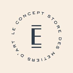 Logo EMPREINTES concept store atelier art france AAF Paris