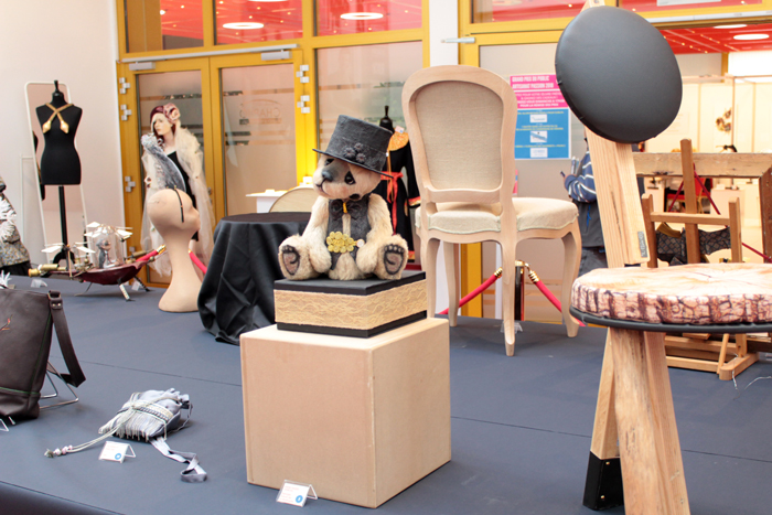 Concours salon artisanat art passion casino Mondorf Luxembourg Prix Public 2018 VERRON