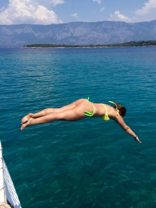 Muutamat uimahypyt Välimereen :)