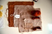 Noce (walnut) dyed samples