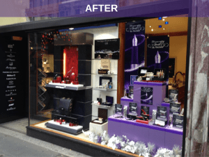 The Pen Shop - After Visual Merchandising