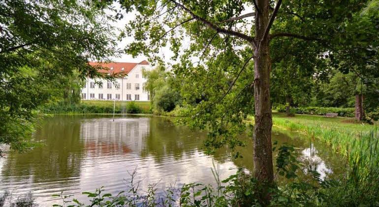 Workshop selvstændige - Parken omkring Scandic Bygholm Hotel