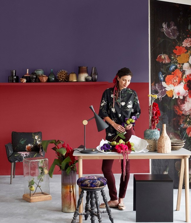 A creative alternative to Grey - 10 Examples of Rich and Regal Purple Walls