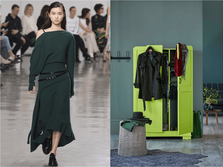 8 Autumn/Winter colours inspired by Paris Fashion Week
