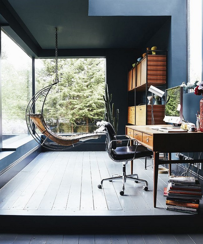 Tips and Colour Inspiration for the Ideal Home Office