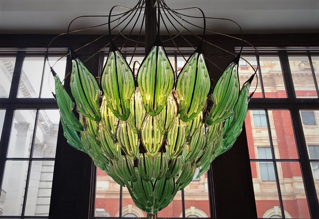 Incredible Living and Breathing Bionic Chandelier