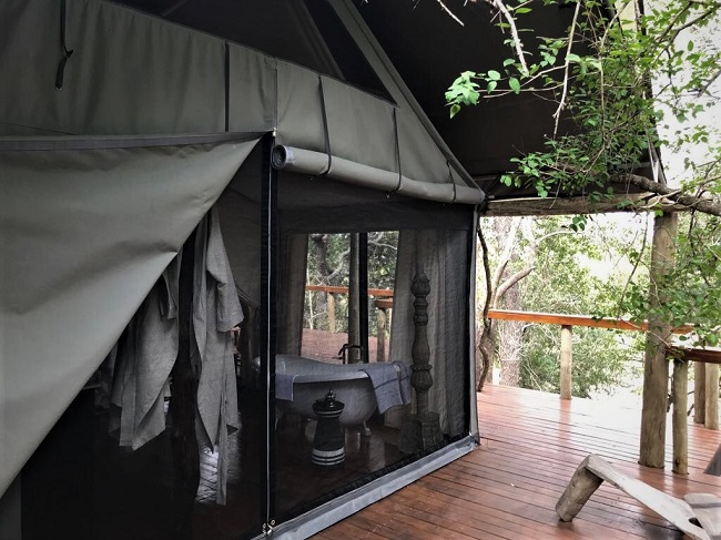 South Africa's newest luxury tented safari camp