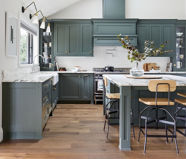 The Latets Kitchen Styles, Colours and Trends