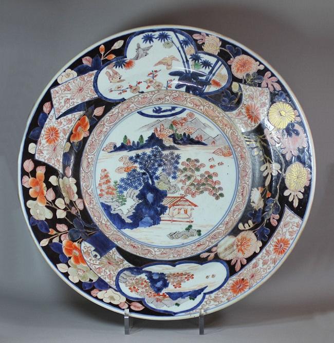 18 Century Imari Style Dish