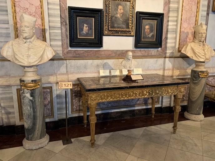 Cardinal Scipione Borghese. Bernini, 1652.