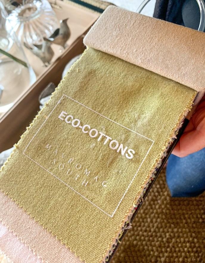 Eco-friendly fabrics, Eco-cottons from Mavromac