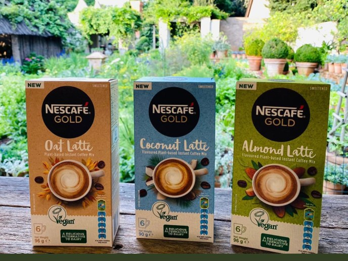 The Vegan Trademark Nescafe vegan Latte
