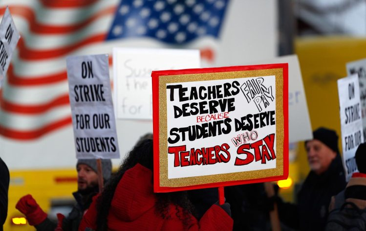 Denver  Trainees  Take  the  Lead  as  Educators  Strike
