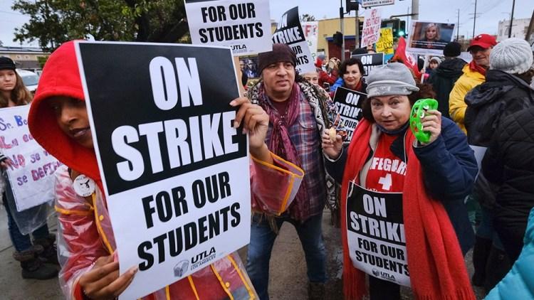LA  instructors,  school  district  reach  tentative  offer  to  end  strike