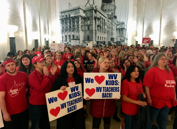 'We  Are  Left  With  No  Other  Choice':  WV T eachers  Strike  Again  A Y ear  Later