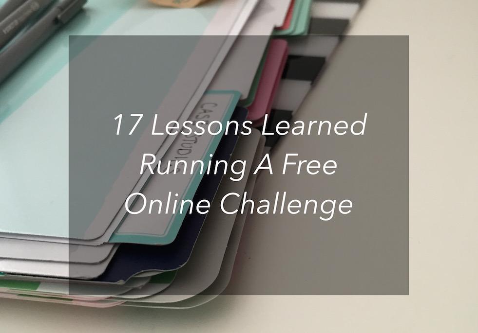 free online challenge