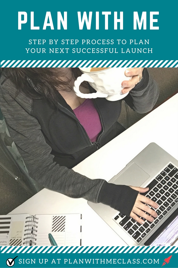 Behind every successful launch I've worked, there's been a clear, well-thought out plan.