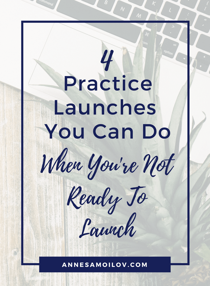 try a practice launch first