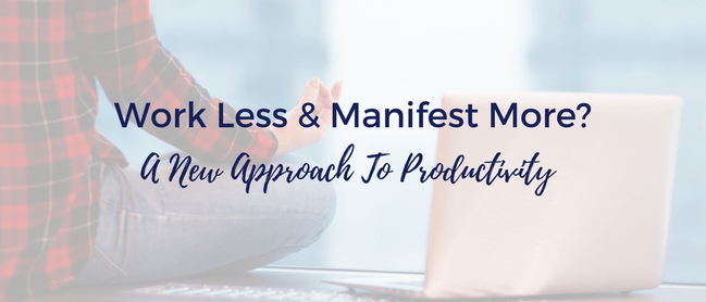 how to work less and manifest more with alexis giostra