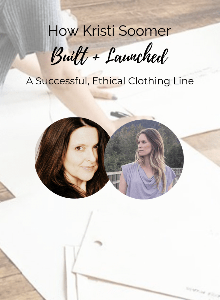"""""""how kristi soomer built and launched"""
